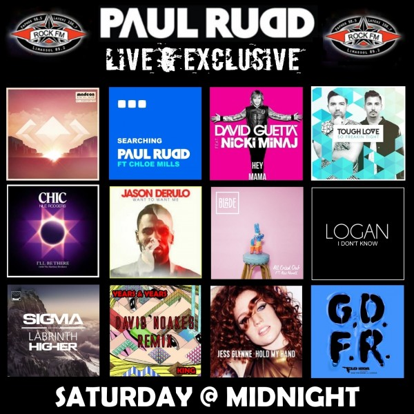 Rock FM Paul Rudd Show 1