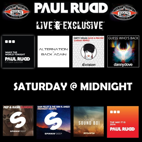 Rock FM Paul Rudd Show 2
